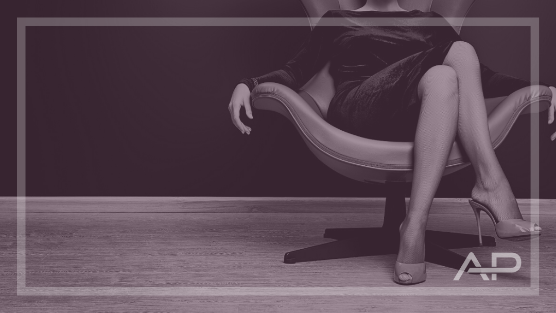 Woman in chair - Andrew Perry Marketing