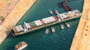lessons in agility - evergreen cargo ship