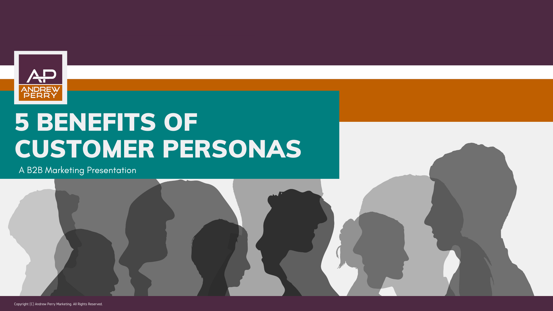 5 Benefits of Customer Personas Marketing Strategy Presentation